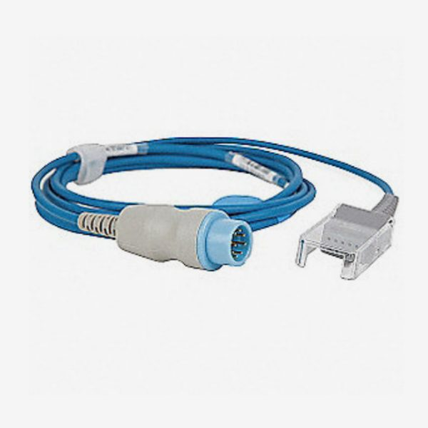 Blue Nonin cable coiled up