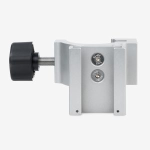 Front view of blender pole mount bracket