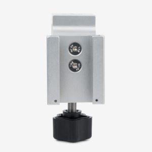 Vertical application of blender pole mount bracket