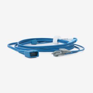 Blue SpO2 Y ear clip