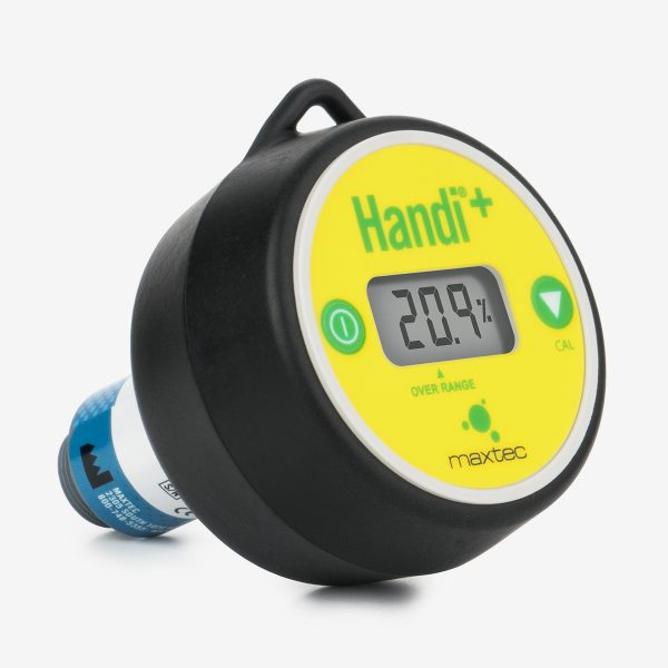 Front angled view of Handi+ Scuba analyzer
