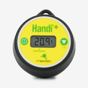 Front view of Handi+ Scuba analyzer