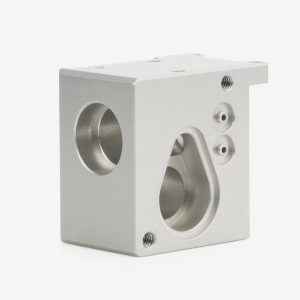 Grey MaxBlend Lite Flow meter manifold part angle