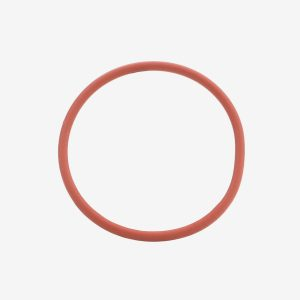 Duro Salmon silicone 50 O-ring on white background