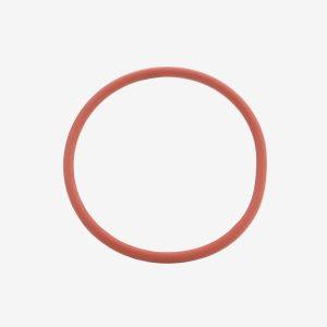Duro Salmon silicone 50 O-ring on white background