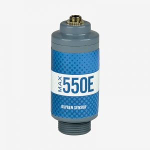 Max-550E oxygen sensor on white background